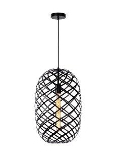 Lucide WOLFRAM Hanglamp Zwart