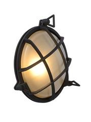 Lucide DUDLEY Wandlamp Rond Zwart