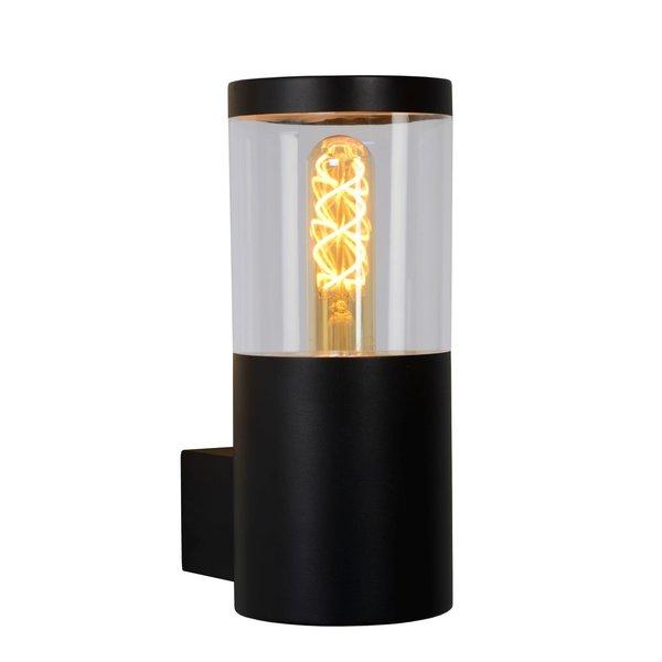 Lucide FEDOR Wandlamp E27/40W H23cm Zwart