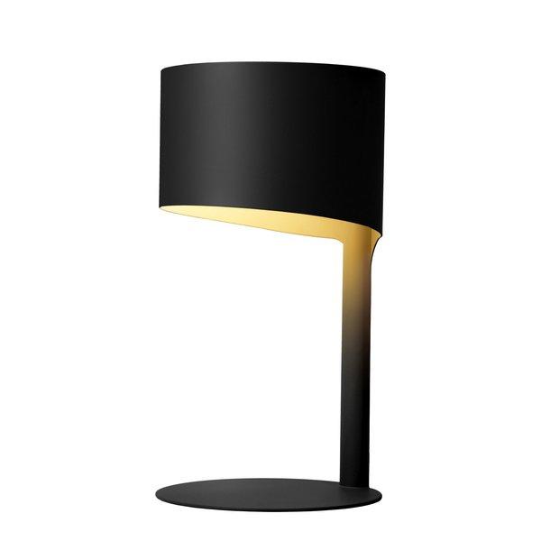 Lucide KNULLE Tafellamp E14 H28,5 D15cm Zwart