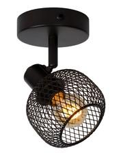 Lucide MAREN plafond / wandspot Zwart