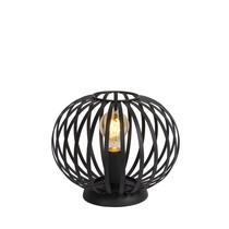 Lucide MANUELA Tafellamp E27/40W Zwart
