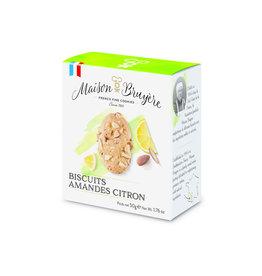 Maison Bruyere Biscuits amandes citron 50g