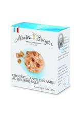 Maison Bruyere Biscuits croustillants aux éclats de caramel au beurre salé 70g