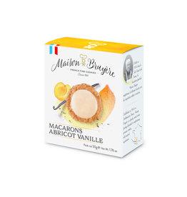 Maison Bruyere Abrikoos macarons 50g
