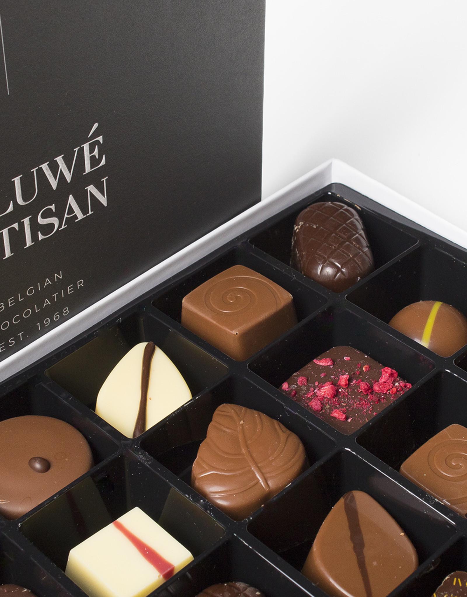 Caluwe Artisan Assortiment de chocolats Belges rempli mix.