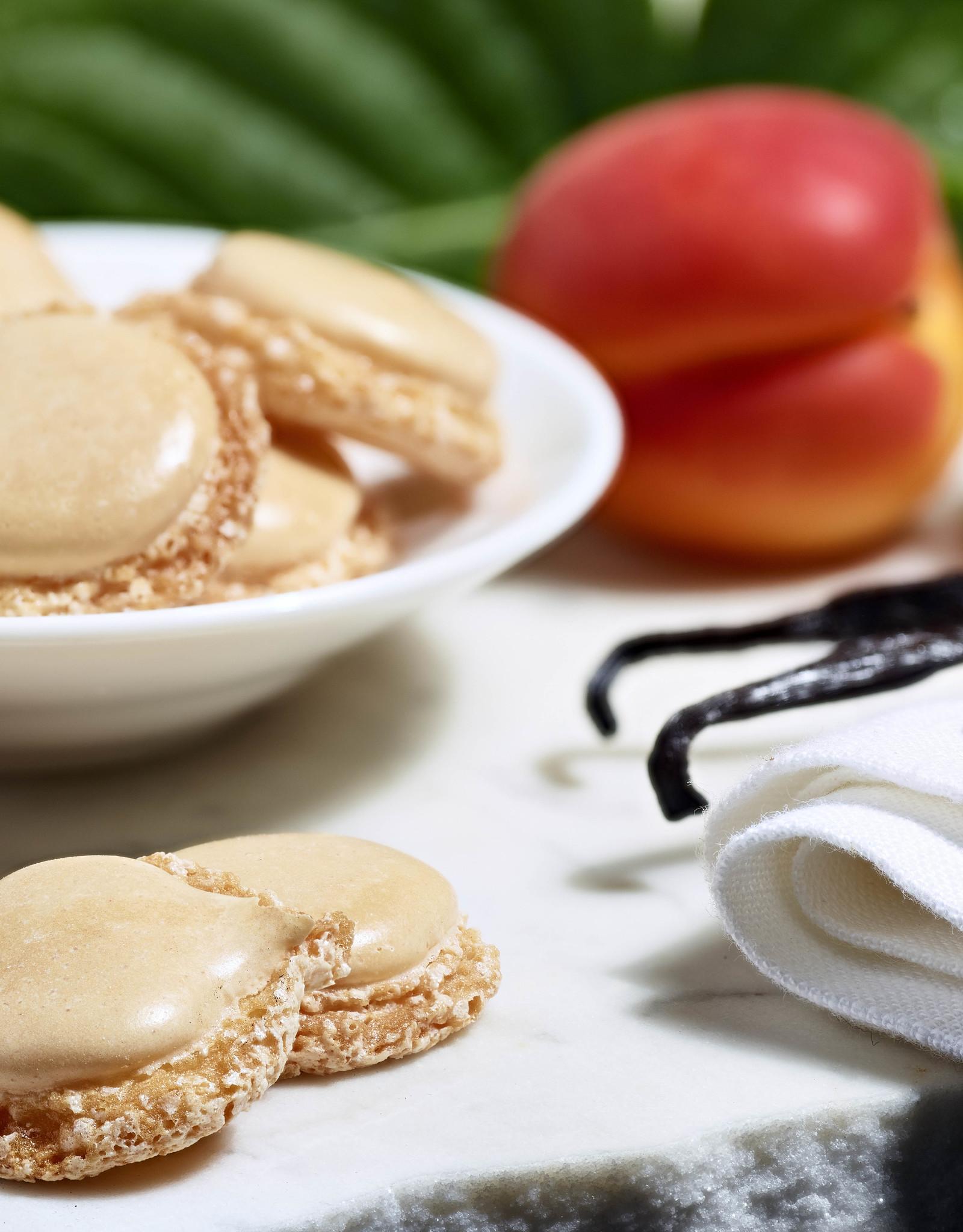 Maison Bruyere  Biscuits croustillants aromatisés à l'abricot et à la vanille 50g