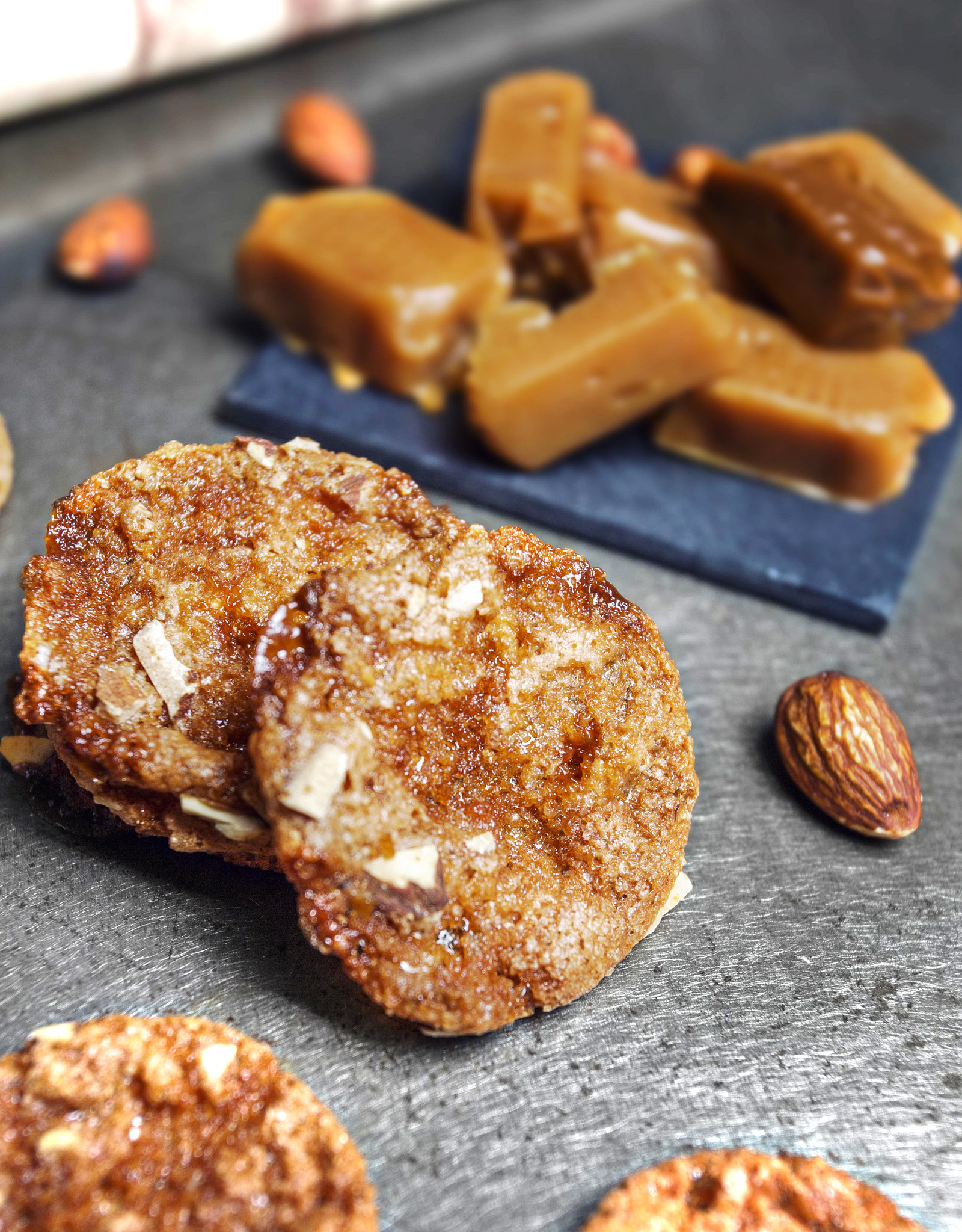 Maison Bruyere Salted caramel crisps 70g