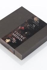 Caluwe Artisan Rigid box 360g - donkere chocolade assortiment - UTZ