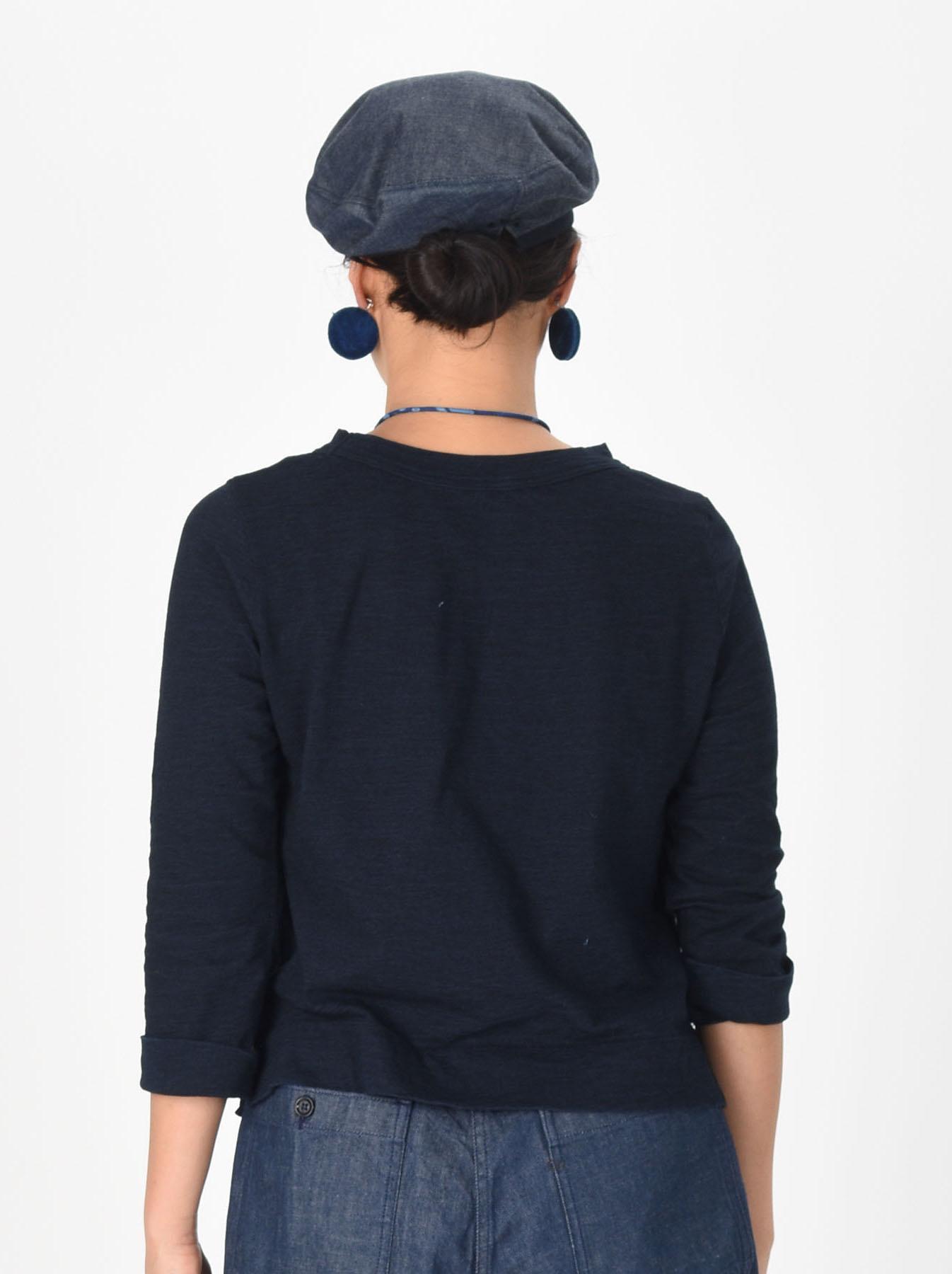 Indigo Zimbabwe Cotton Square T-shirt-5