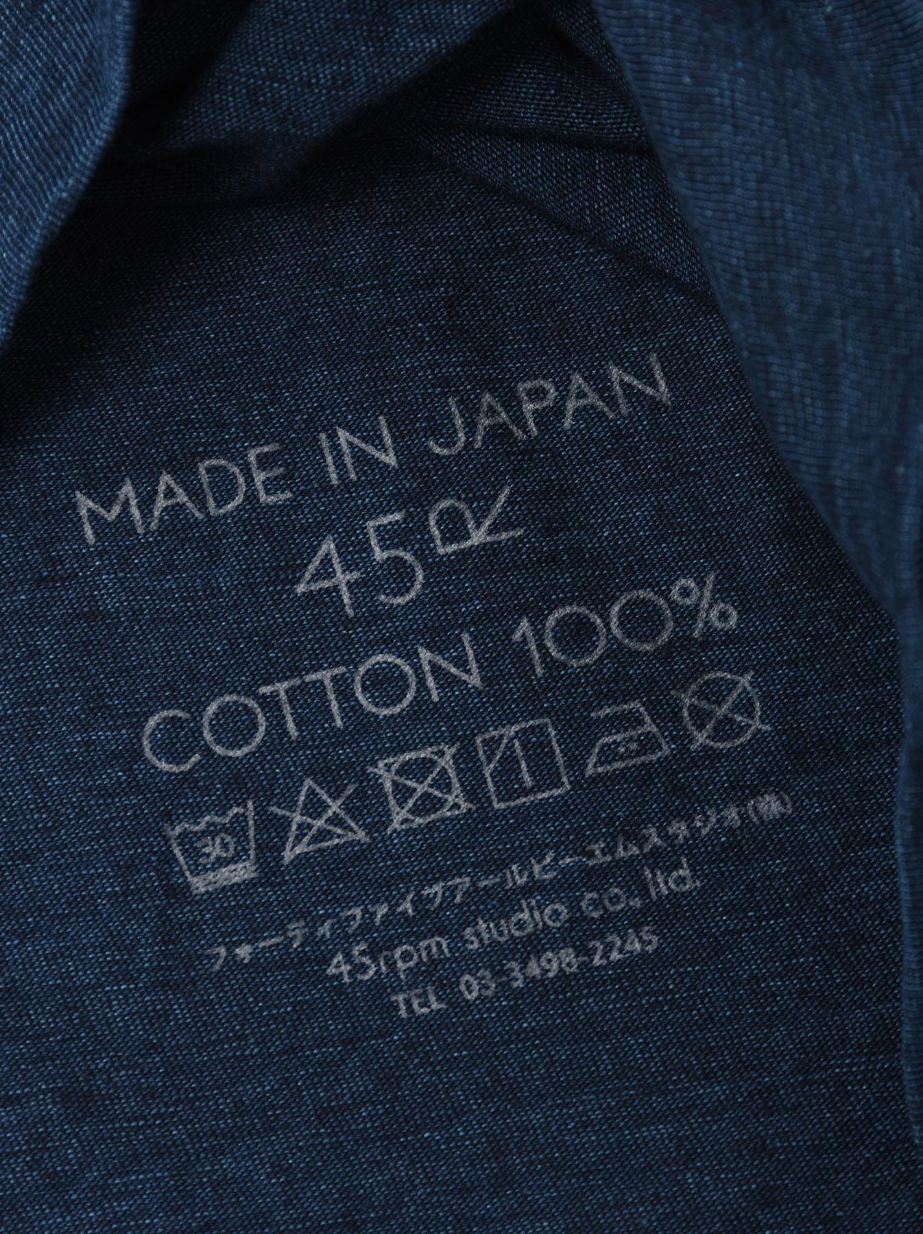 Indigo Zimbabwe Cotton Square T-shirt-11