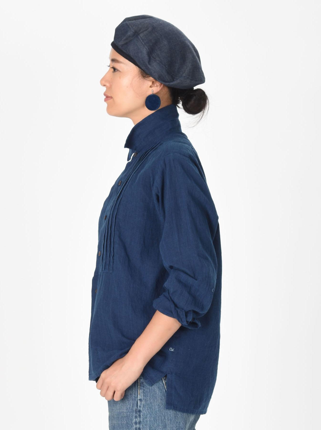 Ai Khadi Pin-tuck Shirt-4