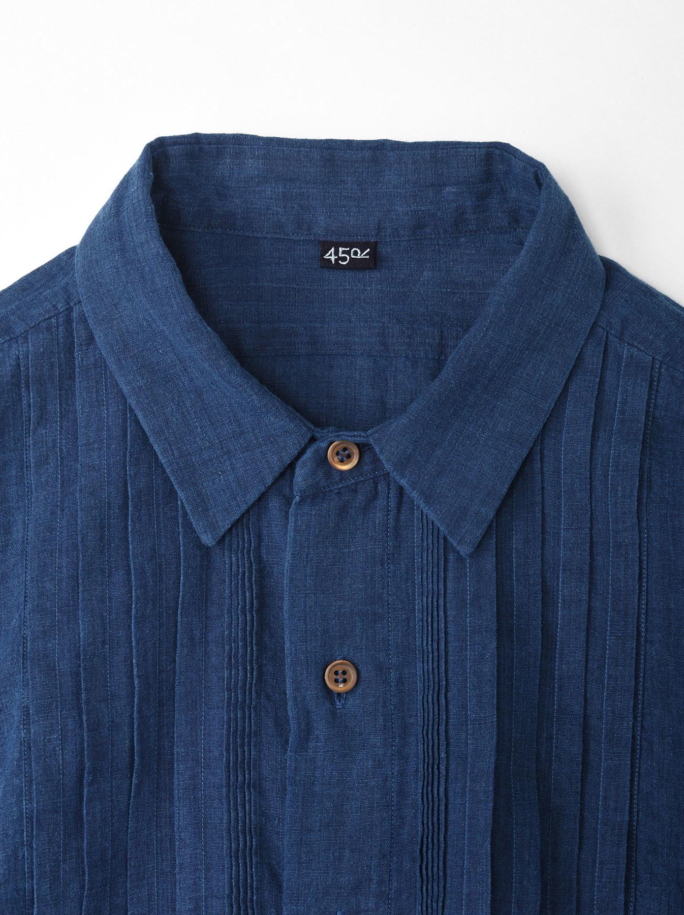 Ai Khadi Pin-tuck Shirt-6