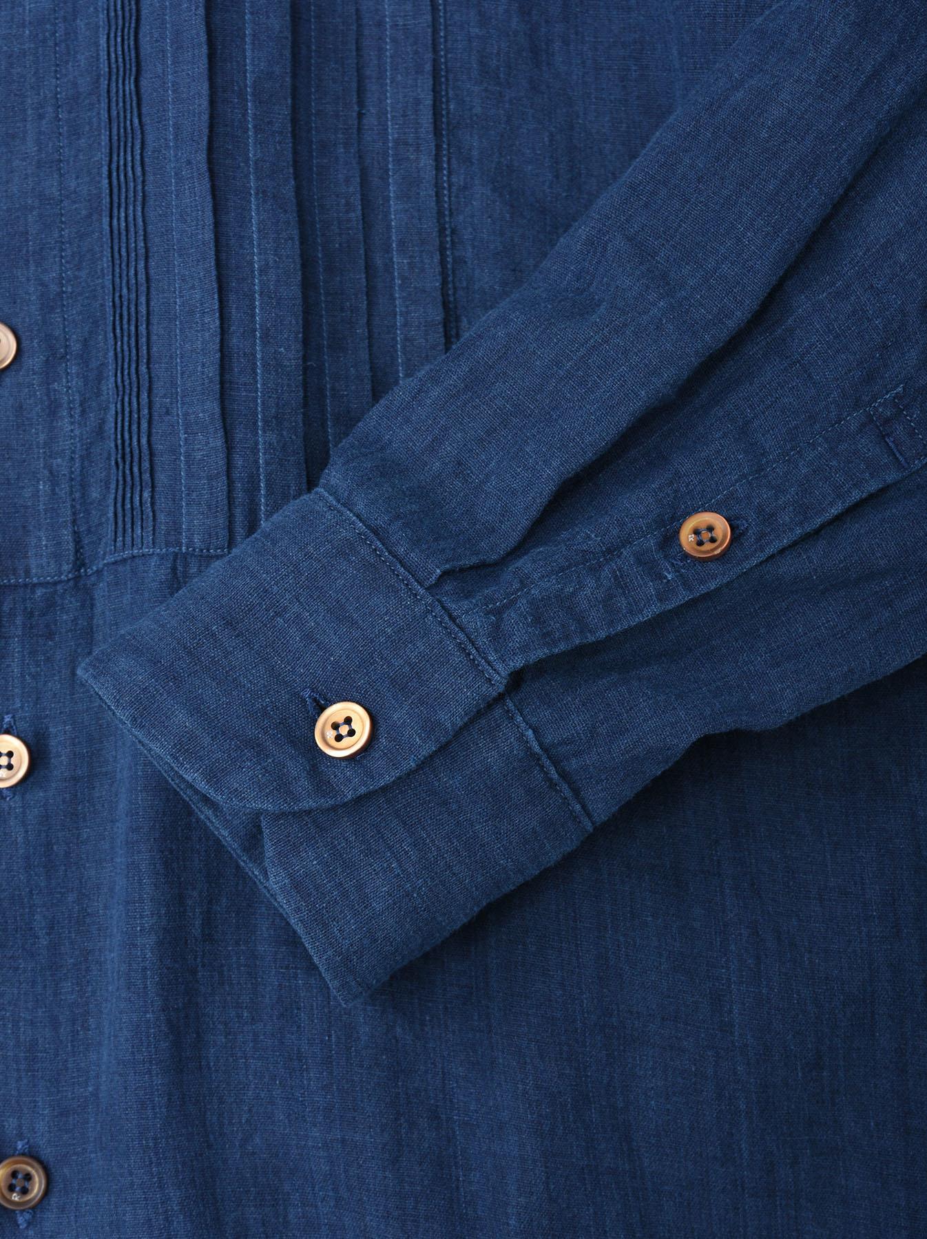 Ai Khadi Pin-tuck Shirt-10