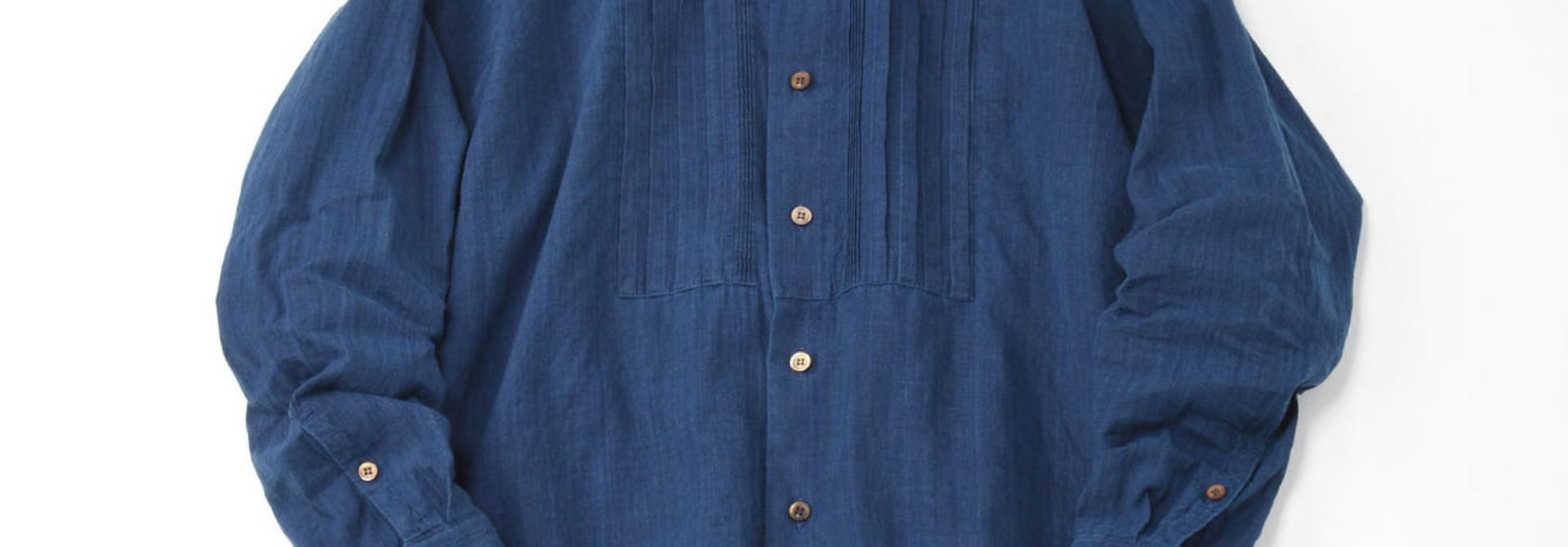 Ai Khadi Pin-tuck Shirt