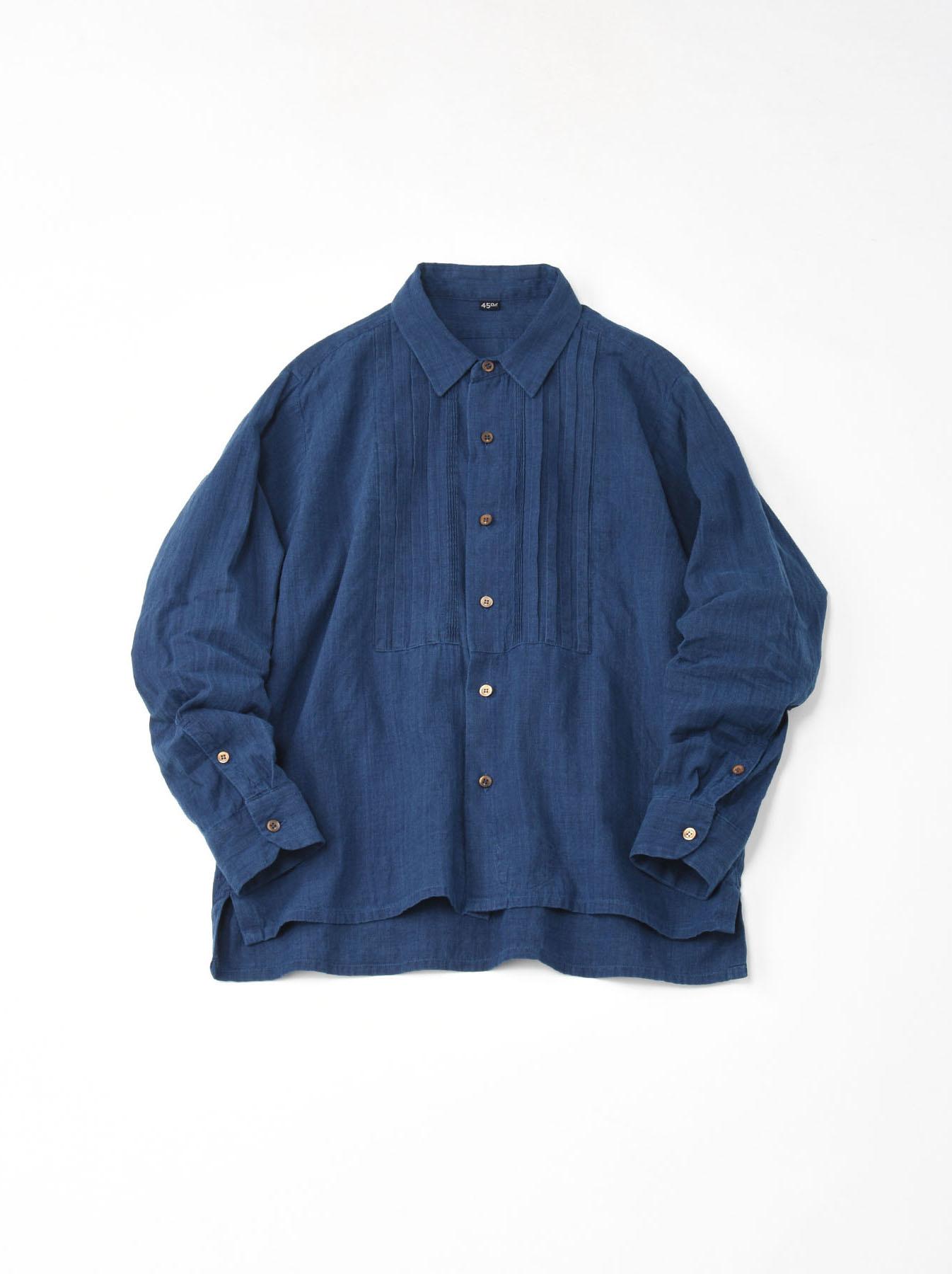 Ai Khadi Pin-tuck Shirt-1