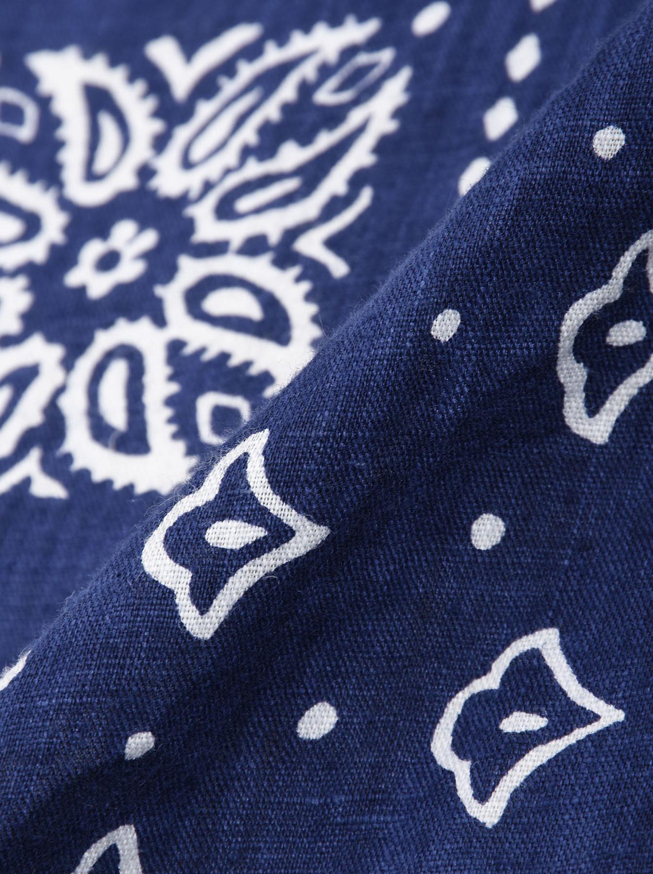 Majotae Blue Bandana-9