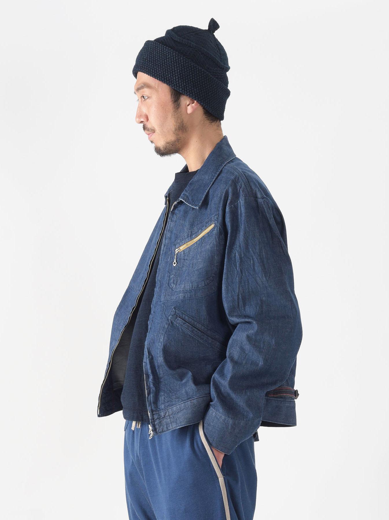 Distressed Mugi Denim Jacket-3