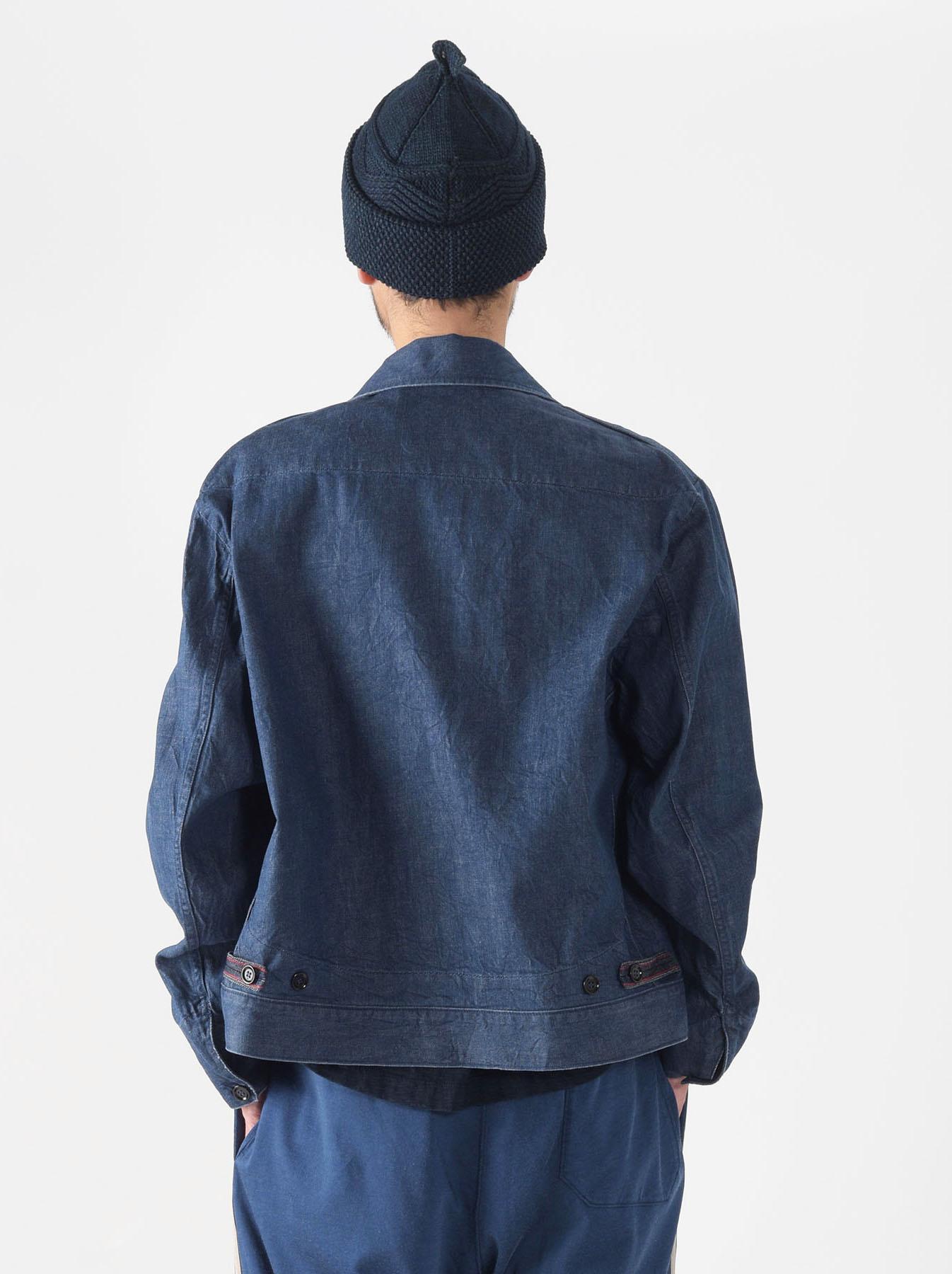 Distressed Mugi Denim Jacket-4