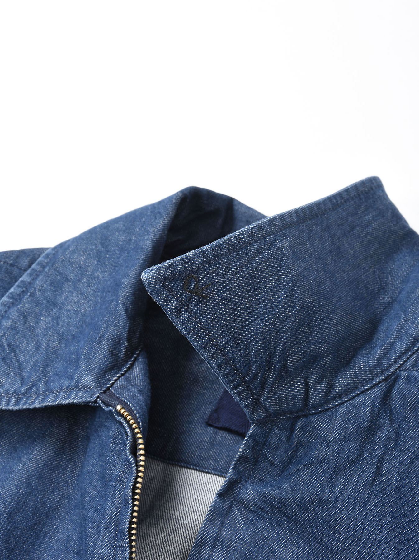 Distressed Mugi Denim Jacket-6