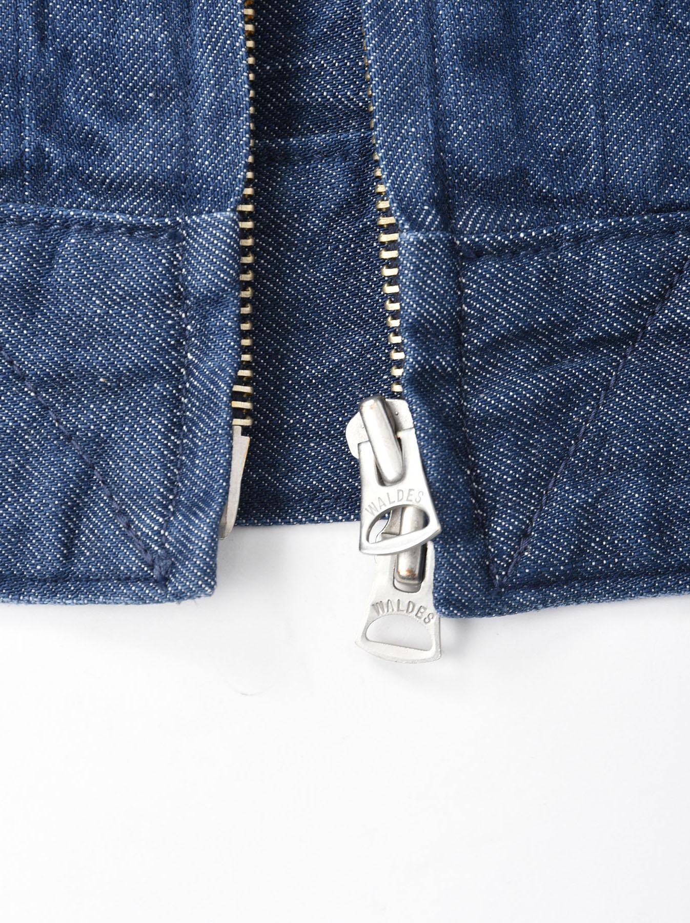 Distressed Mugi Denim Jacket-7