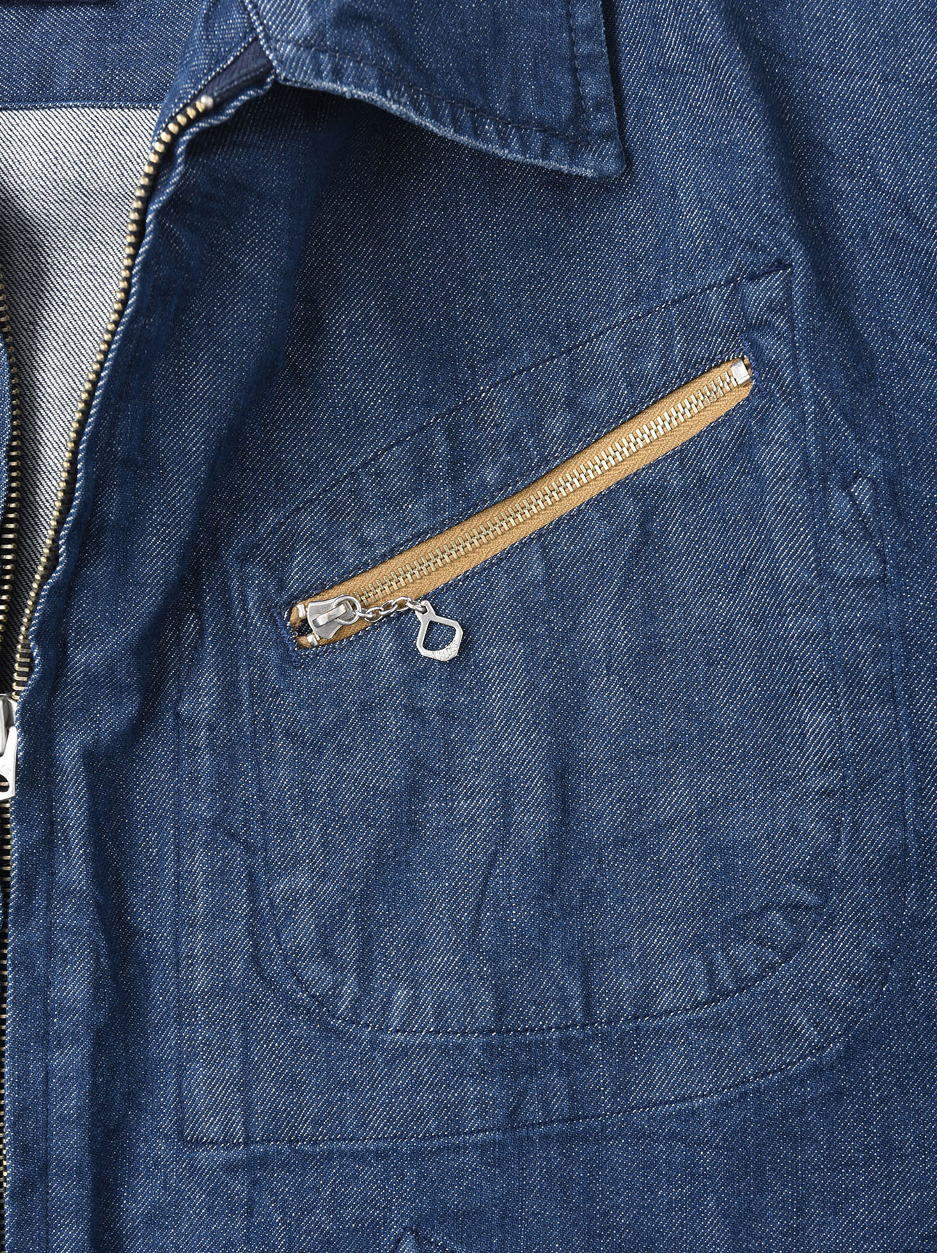 Distressed Mugi Denim Jacket-8