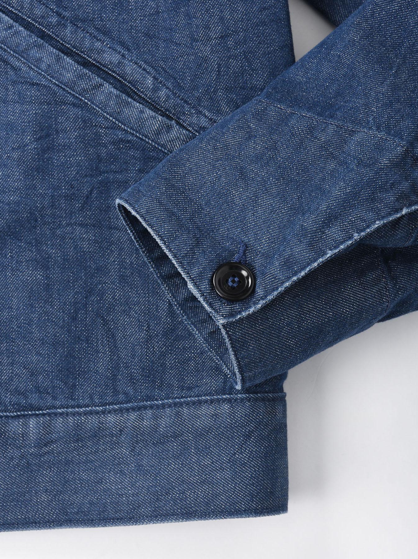 Distressed Mugi Denim Jacket-9