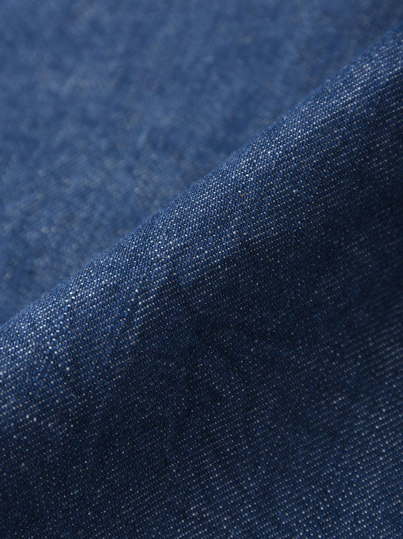 Distressed Mugi Denim Jacket-11