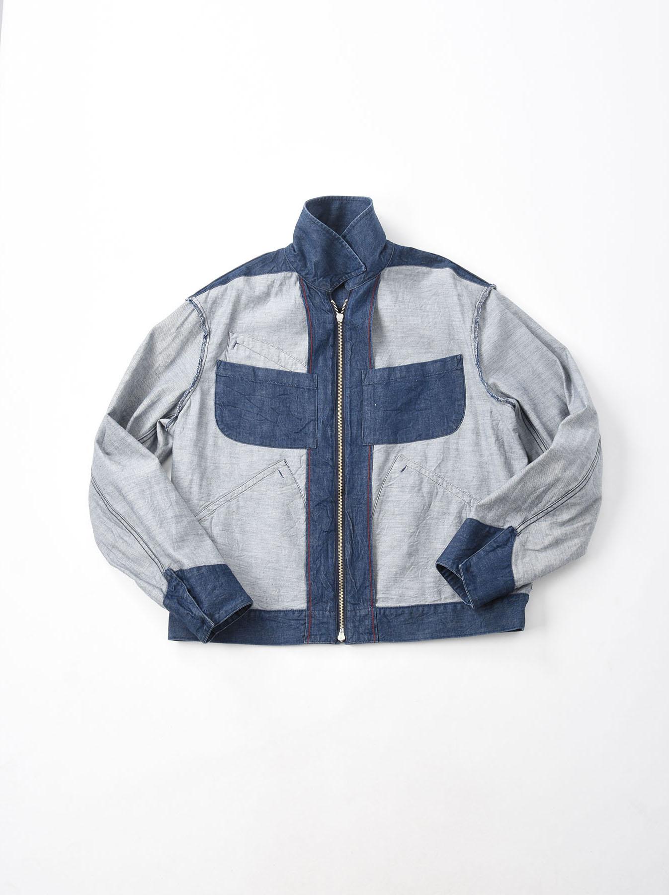 Distressed Mugi Denim Jacket-12