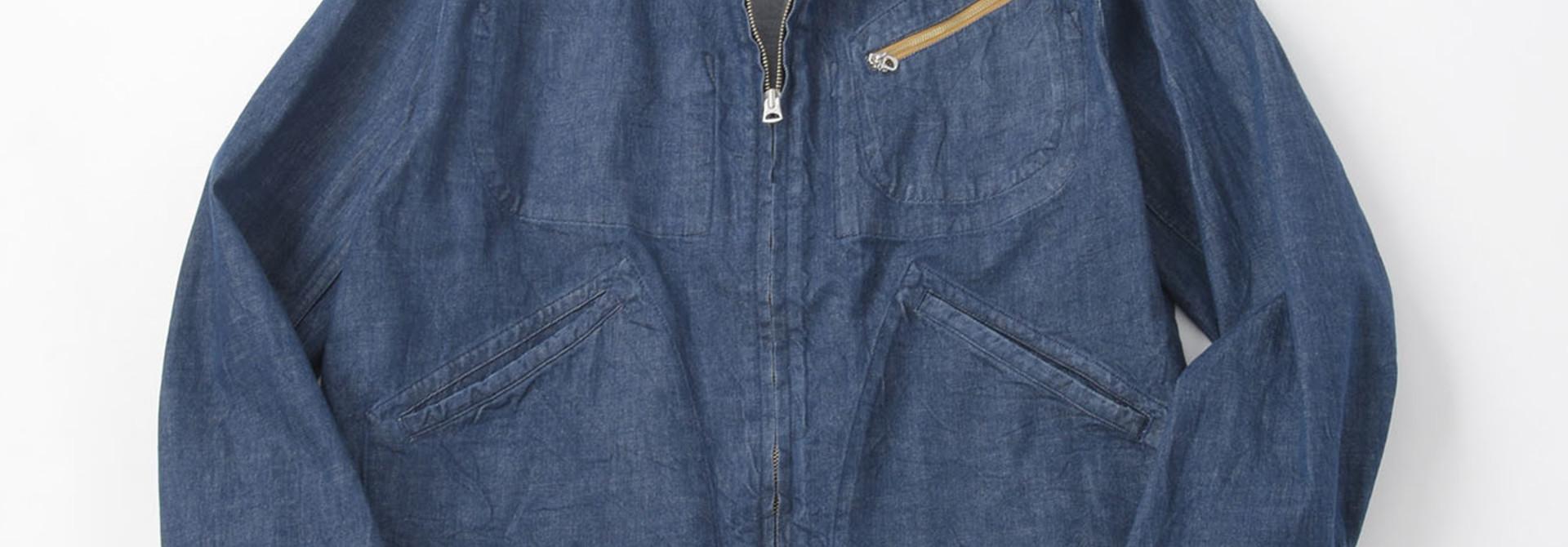Distressed Mugi Denim Jacket