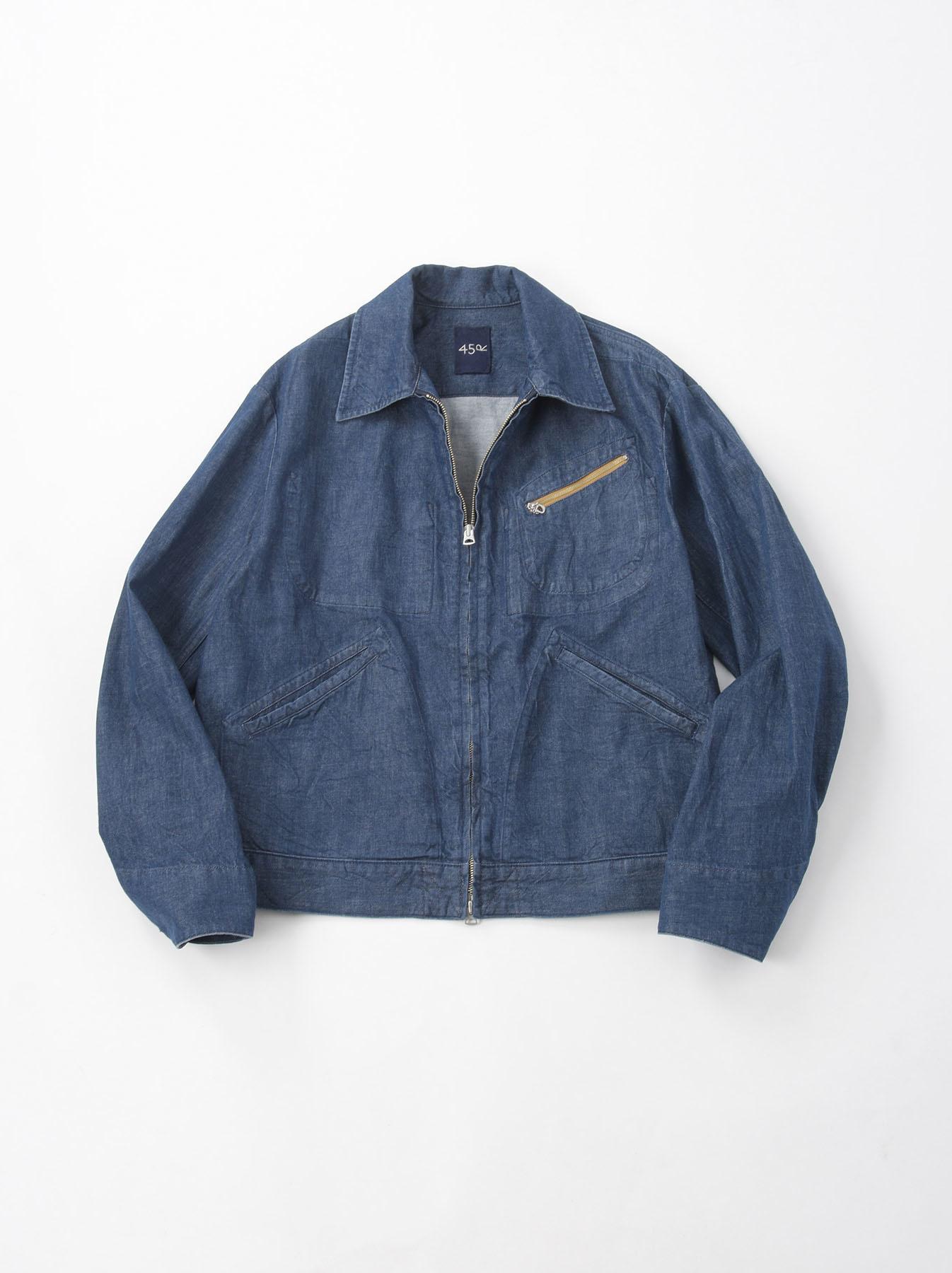 Distressed Mugi Denim Jacket-1