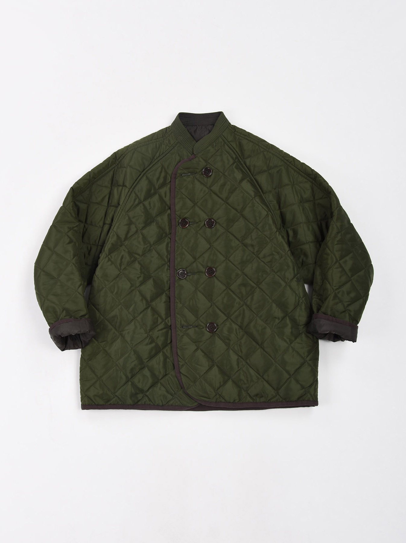 WH Thick Nylon Quilted Blouson-3