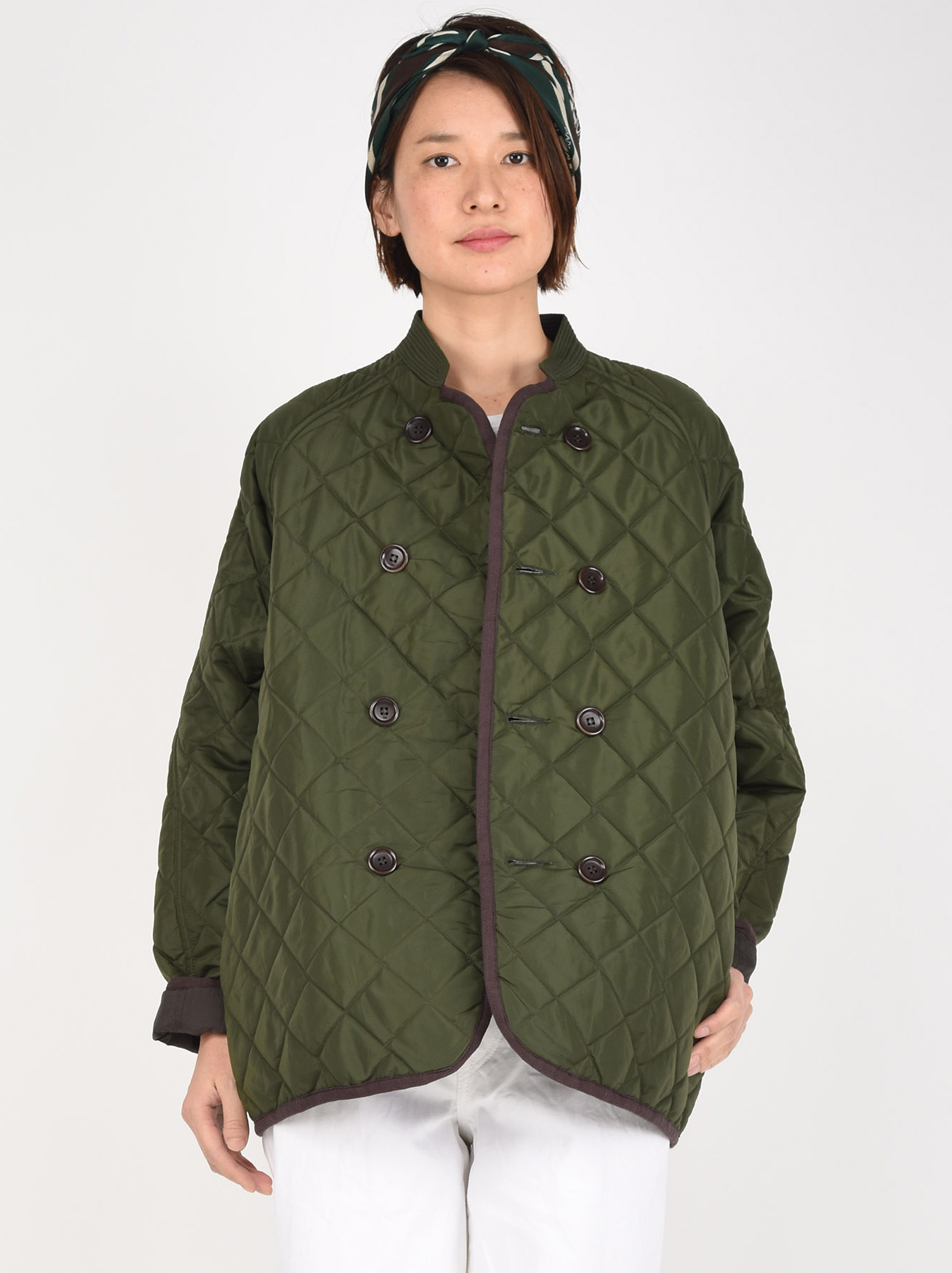 WH Thick Nylon Quilted Blouson-2