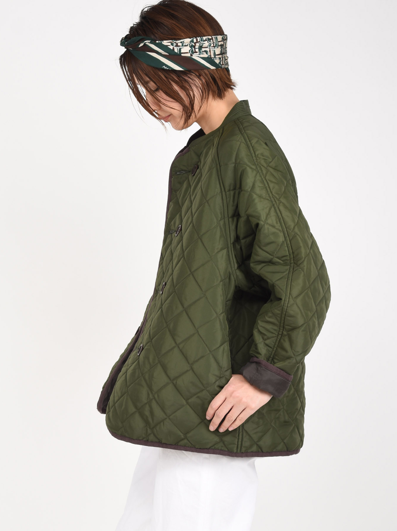 WH Thick Nylon Quilted Blouson-4