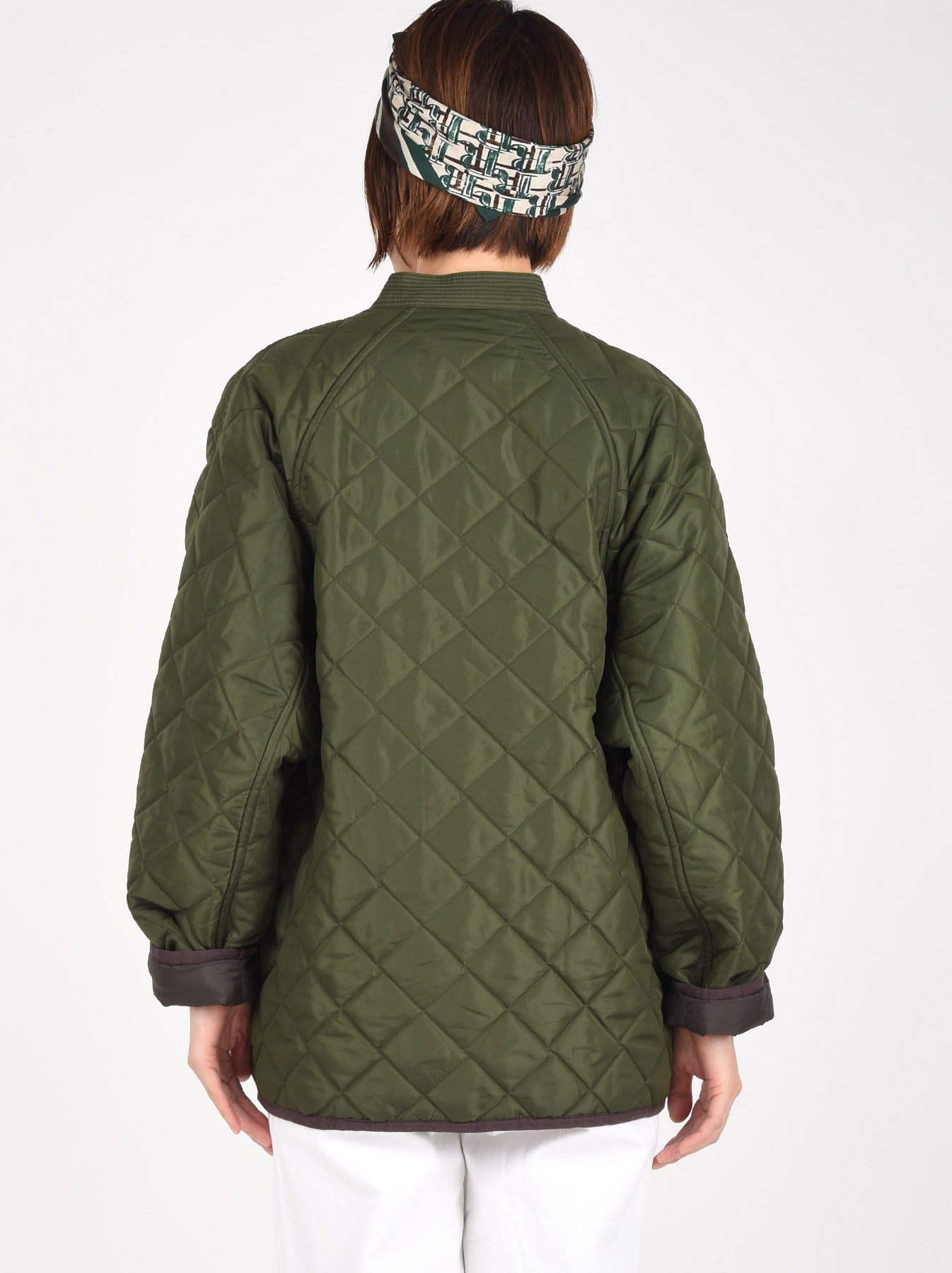 WH Thick Nylon Quilted Blouson-5