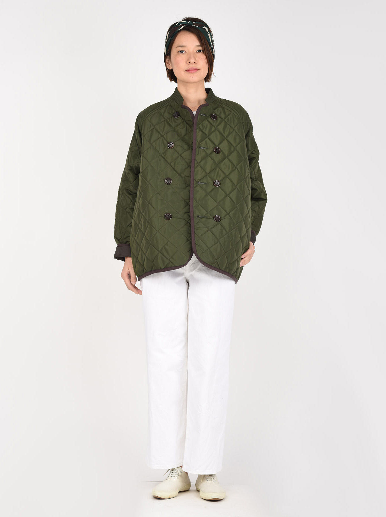 WH Thick Nylon Quilted Blouson-6