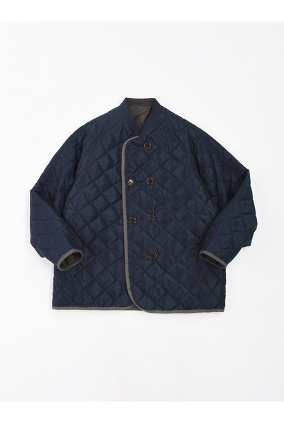 WH Thick Nylon Quilted Blouson
