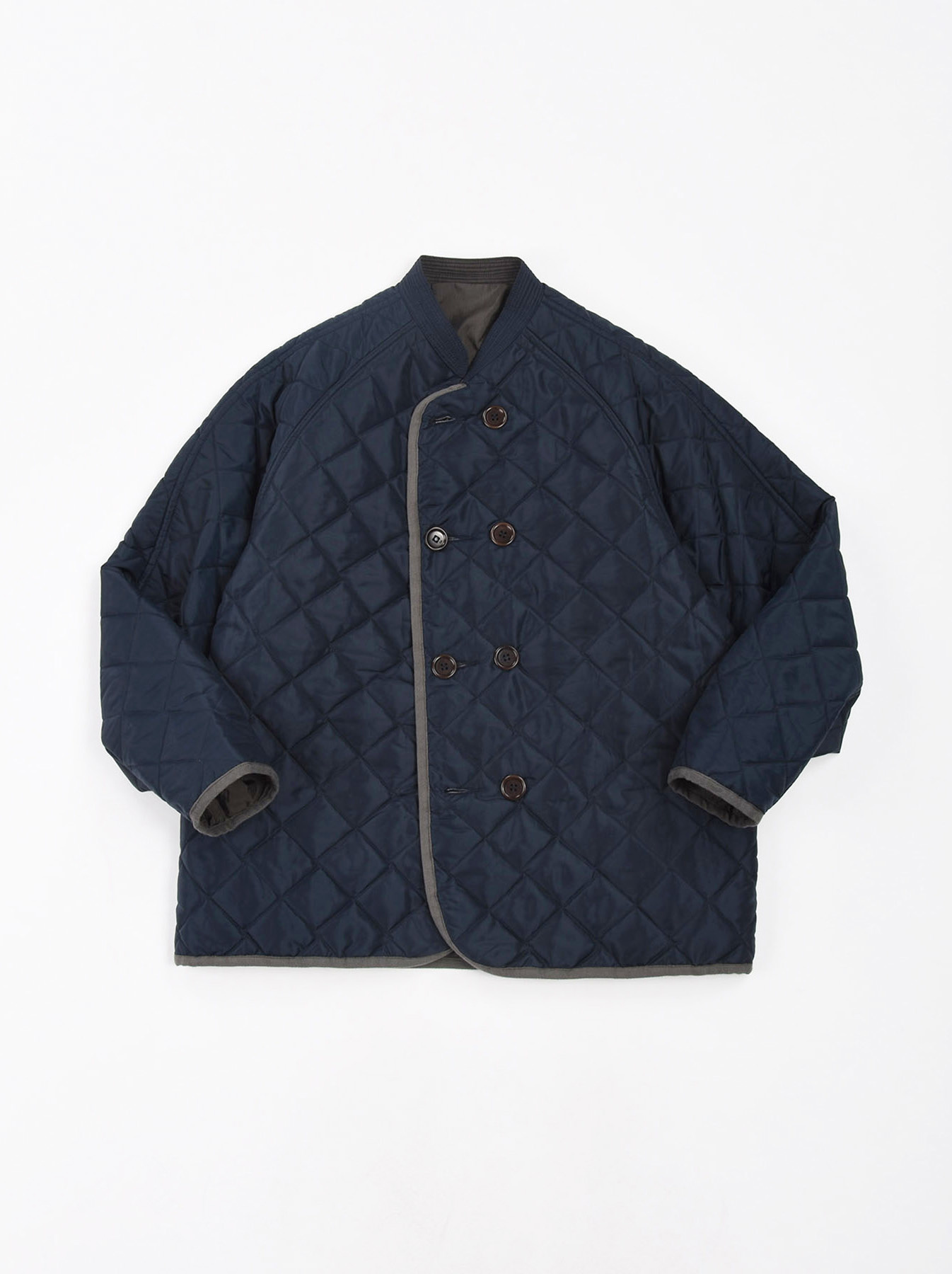 WH Thick Nylon Quilted Blouson-1