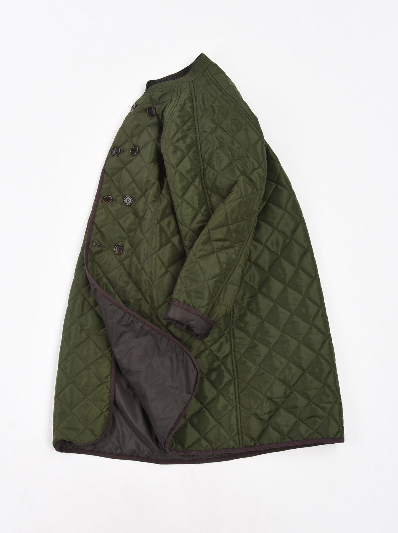 WH Thick Nylon Quilted Coat-2
