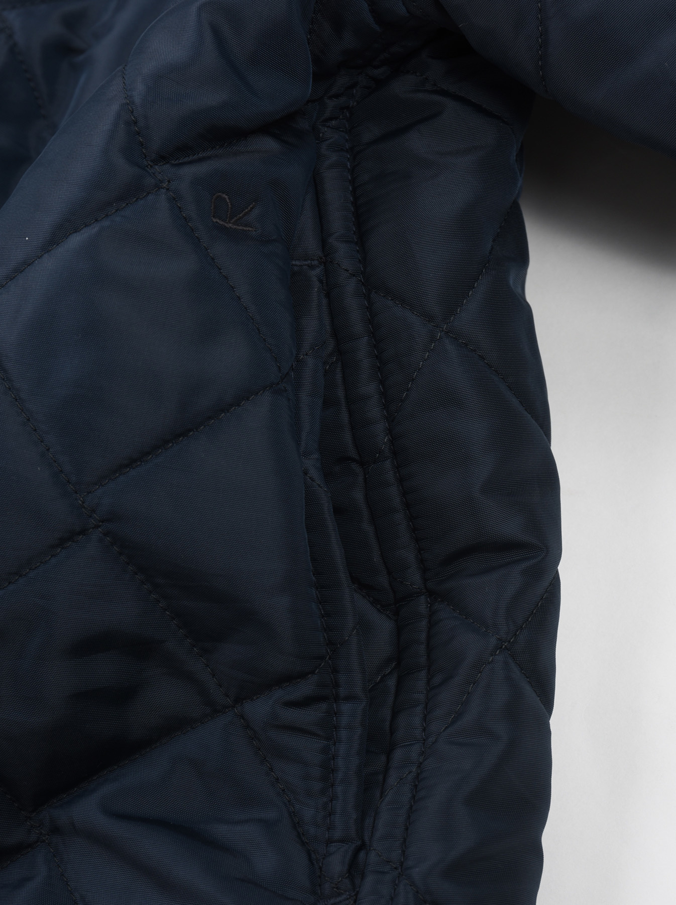 WH Thick Nylon Quilted Coat-7