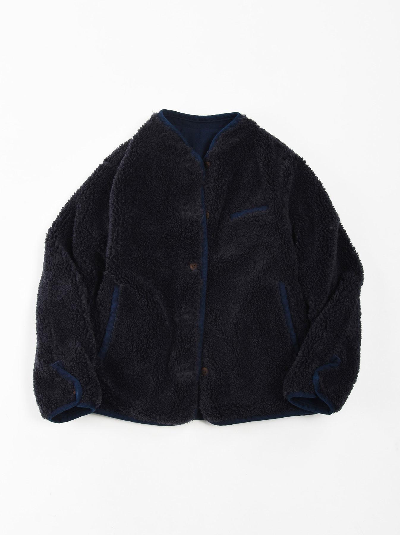 Okome Yoko-shusu Sheep Boa 908 Jacket-4
