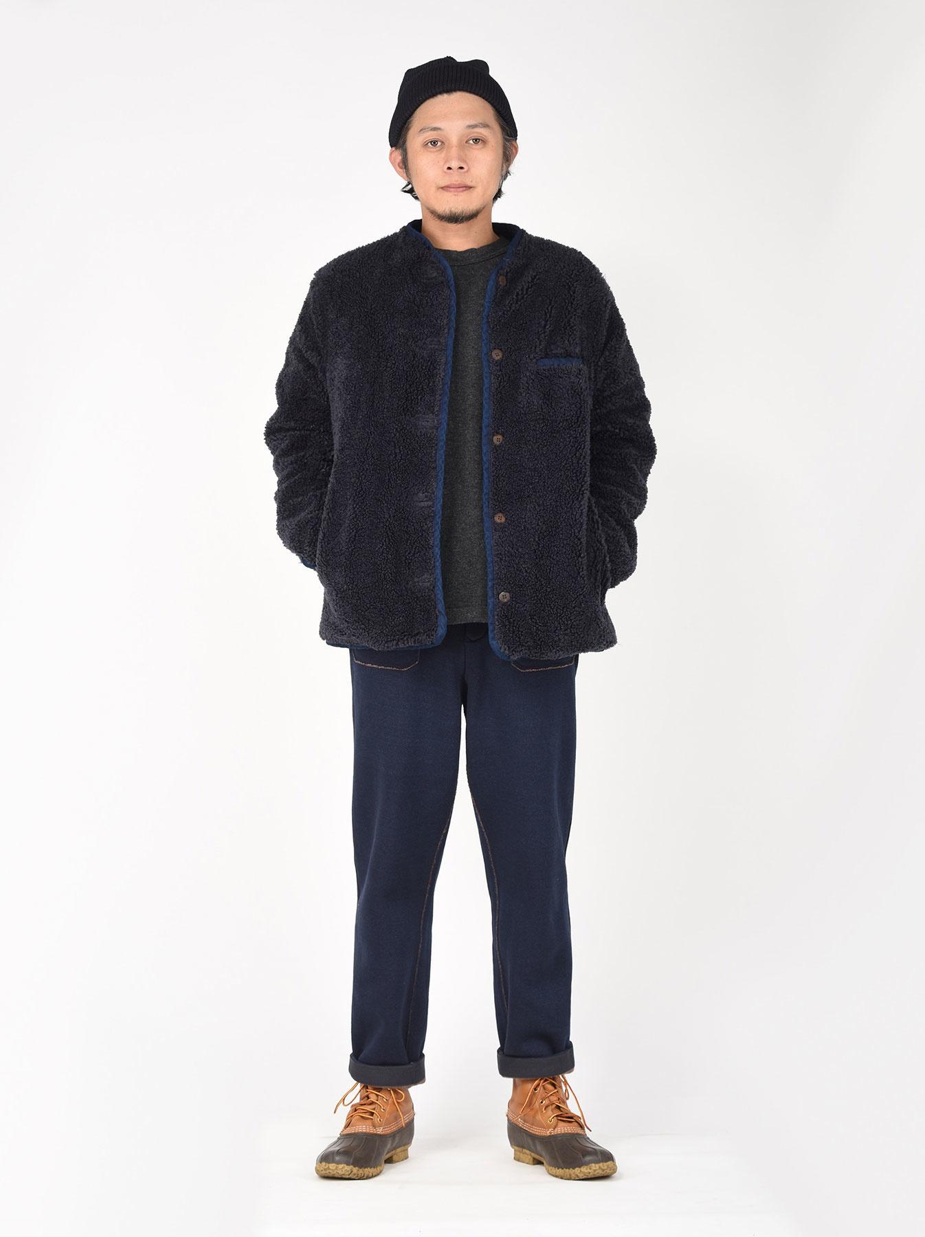 Okome Yoko-shusu Sheep Boa 908 Jacket-2