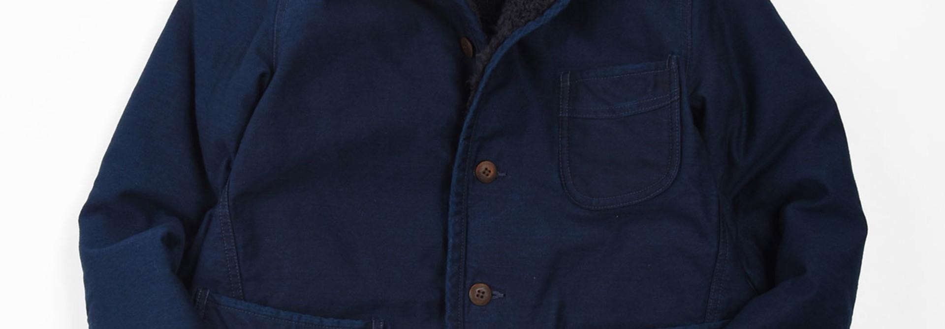 Okome Yoko-shusu Sheep Boa 908 Jacket