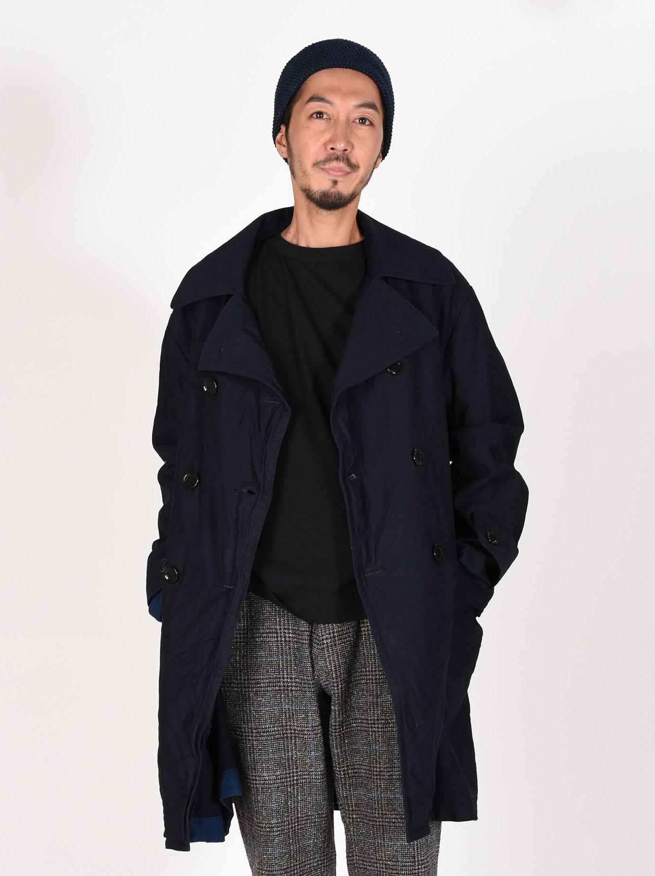 WH Ai-Nando Okome Sateen Hayama Coat-3