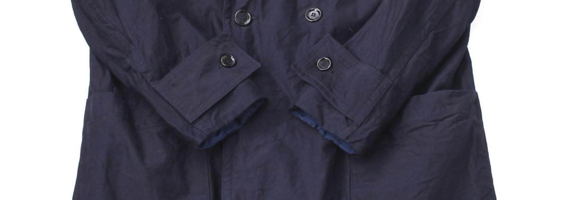 WH Ai-Nando Okome Sateen Hayama Coat