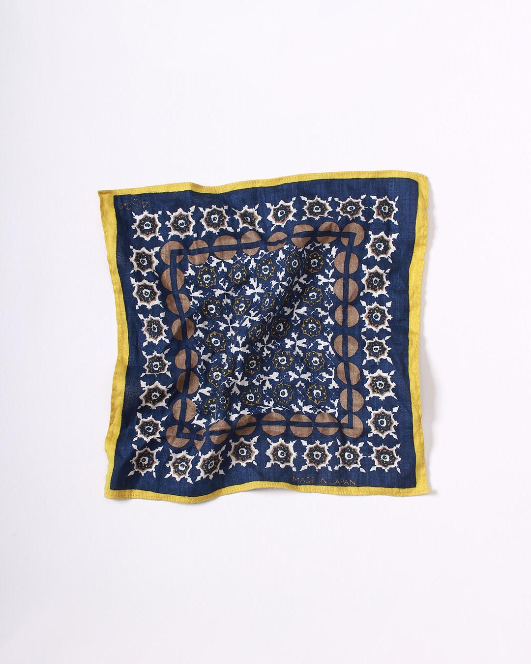 Hemp Komon Pocket Square-1