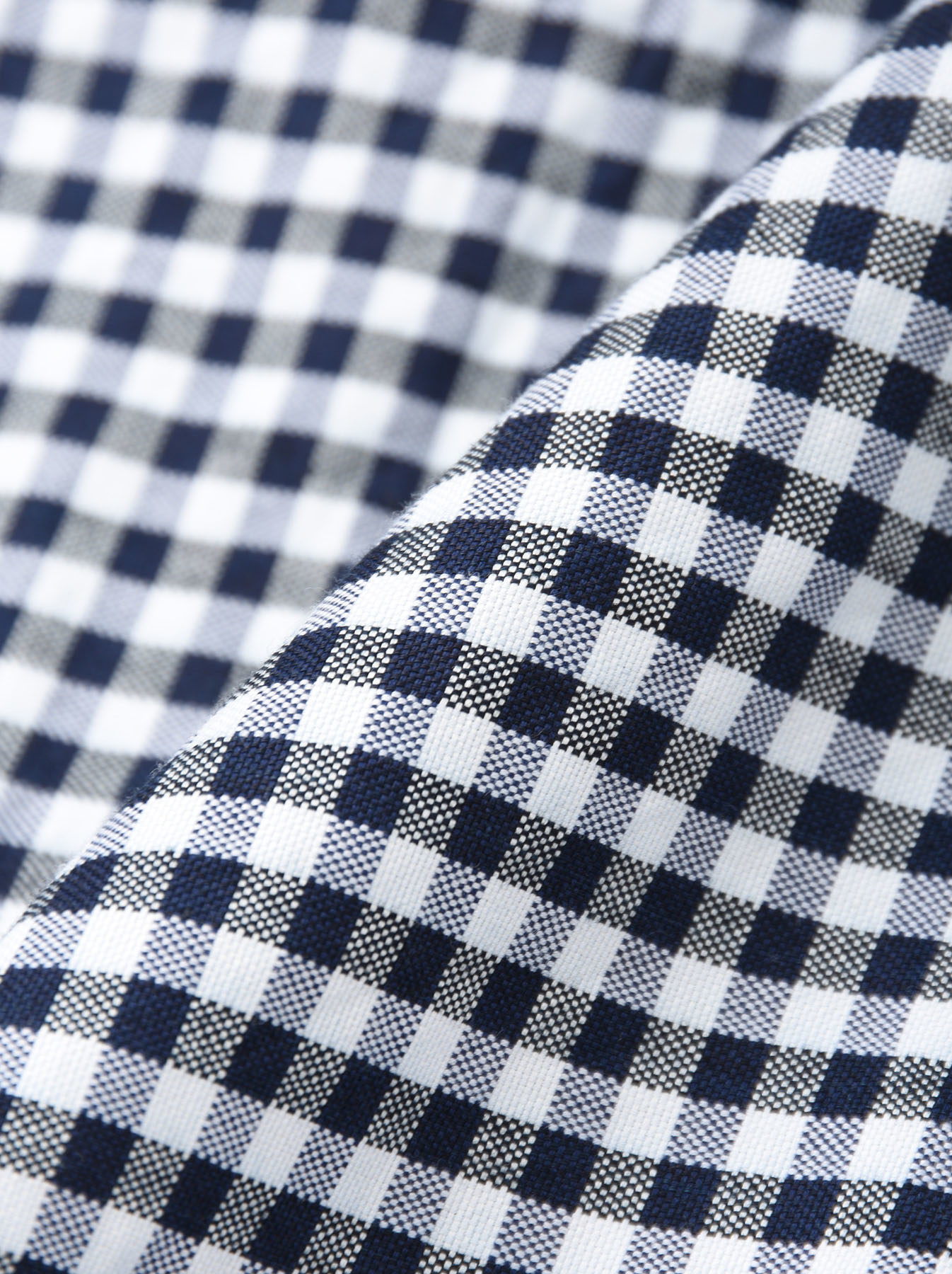 Indigo Thin Oxford Button Down Shirt-12
