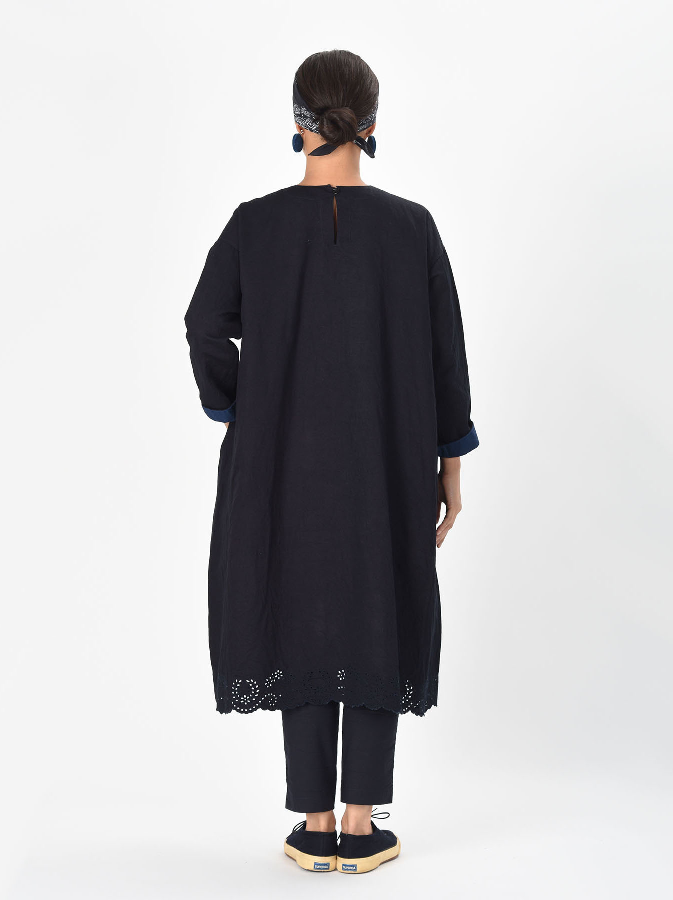 Ai-nando Awa Sateen Cutwork Uma Dress-4
