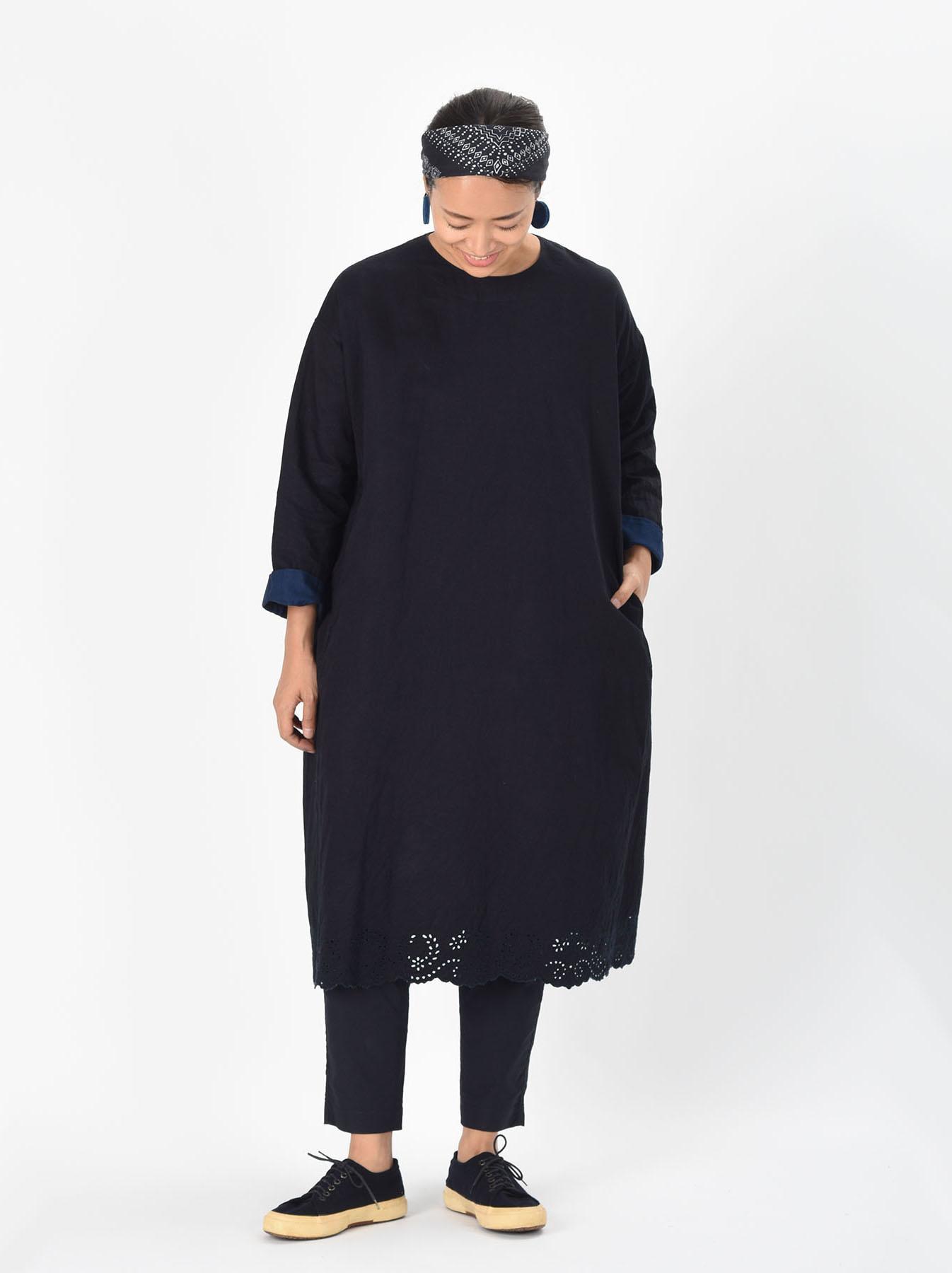 Ai-nando Awa Sateen Cutwork Uma Dress-2