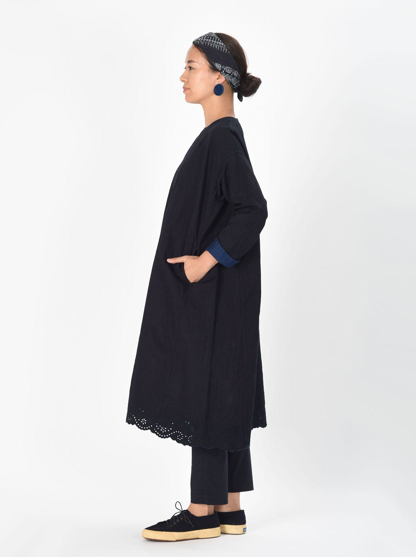 Ai-nando Awa Sateen Cutwork Uma Dress-3